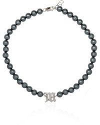 MISBHV Pearl Choker - Grey