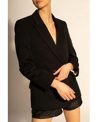 Zadig & Voltaire Double-breasted Blazer Black