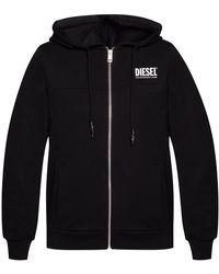 DIESEL - Zip-up Hoodie - Lyst