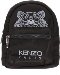 KENZO   Tiger Head Motif Backpack   Lyst