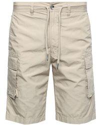 DIESEL - Cotton Shorts - Lyst