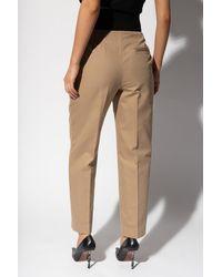 Alexander Wang High-waisted Pants Beige - Natural