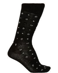 Etro Knitted Socks - Black