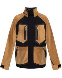 Loewe Hybrid Jacket - Brown