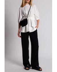 Proenza Schouler Belted-waist Top - Multicolour