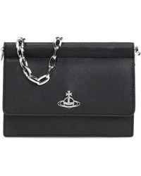 Vivienne Westwood Shoulder Bag Black