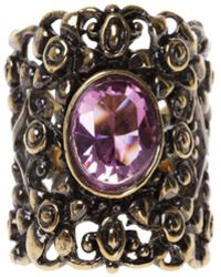 Gucci - Crystal Ring - Lyst