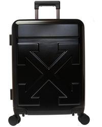 Off-White c/o Virgil Abloh Suitcase With Logo - Black