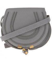 Chloé - Marcie Mini Leather Shoulder Bag - Lyst