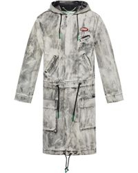 Off-White c/o Virgil Abloh Exagerated Parka - Gray