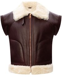 See By Chloé Leather Vest - Multicolour