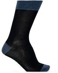 Ferragamo Gancini Jacquard Socks - Blue