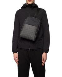 Emporio Armani One-shoulder Backpack Black
