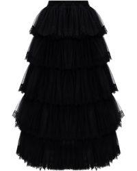 Vetements Tulle Skirt - Black