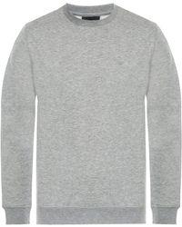 Emporio Armani Emporio Crew Neck Logo Sweatshirt - Grey