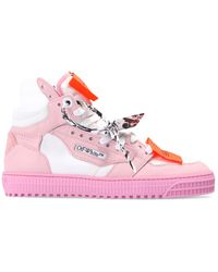 Off-White c/o Virgil Abloh Trainers With Logo - Pink