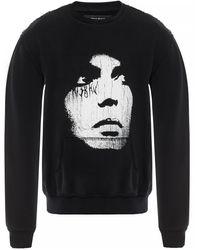 MISBHV Printed Sweatshirt - Black