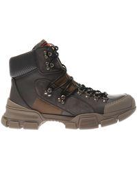 Gucci 'flashtrek' Boots - Brown