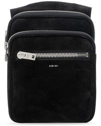Amiri Belt Bag With Clips - Black