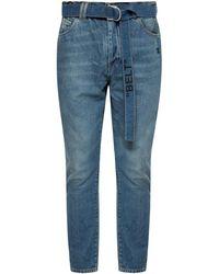 Off-White c/o Virgil Abloh Striped Jeans - Blue