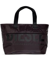 DIESEL Shopper Bag - Black