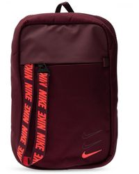 Nike Single-shoulder Backpack Burgundy - Multicolour