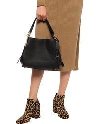 COACH Shoulder Bag With Charm - Black