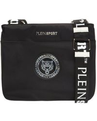 3ca127d4d2 Philipp Plein Skull Embossed Shoulder Bag in Black for Men - Lyst