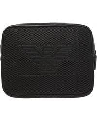 Emporio Armani Logo Beltbag - Black