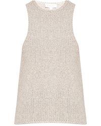 Michael Kors Cashmere Vest - Grey