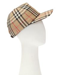 Burberry Baseball Cap Brown