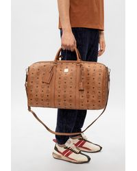 MCM Handbag With Logo - Brown