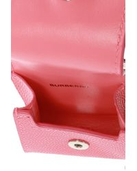 Burberry Headphones Case With Logo Pink