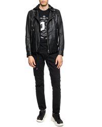 DIESEL Biker Jacket Black