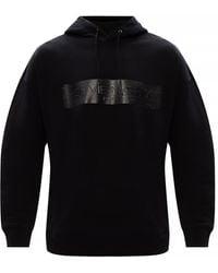 Givenchy Logo-printed Hoodie Black