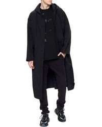 Fear Of God Hooded Raincoat Black