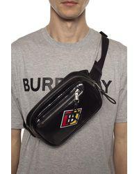 Burberry Branded Belt Bag Black