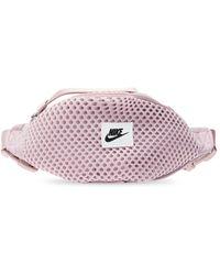 Nike Branded Belt Bag - Purple