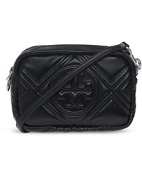 Tory Burch 'perry Mini' Shoulder Bag - Black