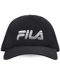 Fila Branded Baseball Cap - Black