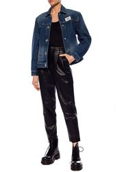 Burberry Denim Jacket Light Blue