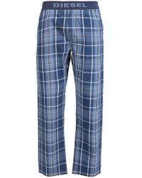 DIESEL - Checked Pyjama Bottom - Lyst
