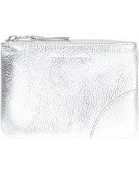 Comme des Garçons - Embossed Logo Leather Wallet - Lyst