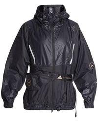 adidas By Stella McCartney Jacket With Removable Belt Bag - Black