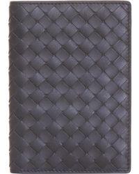 Bottega Veneta - Leather Wallet - Lyst
