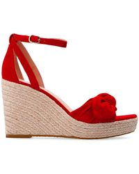 Kate Spade 'tianna' Wedge Sandals - Red