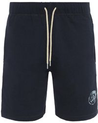 DIESEL - Pan Shorts Black - Lyst