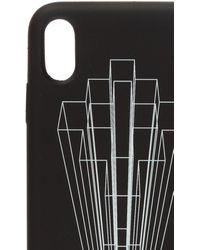 Marcelo Burlon Graphic Logo Print Iphone Xr Case - Black