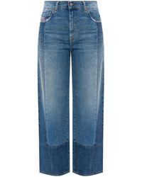 DIESEL 'widee' Jeans Blue