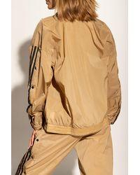 adidas Originals Track Jacket W/ Side Fasteners Beige - Brown